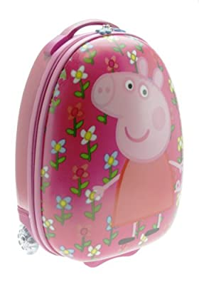 Trade Mark Collections Peppa Pig Pebble Suitcase by Trade Mark Collections