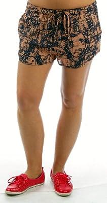 Wemoto Shorts NOWELL SHORT salmon blue print