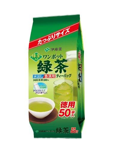 伊藤園 ワンポット抹茶入り緑茶 50袋