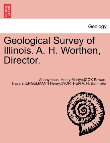Geological Survey of Illinois. A. H. Worthen, Director. Volume III.