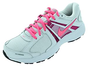 Nike Women's Dart 10 Running Shoes-White/Digital Pink/Fusion-6