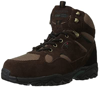 Propet Men's Camp Walker Hi Boot,Brown,7 M US
