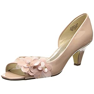 Bandolino Women's Pemberly D'Orsay Pump,Light Pink/Light Pink Synthetic,8 M US
