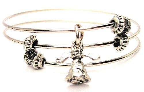 Liberty Bell Expandable Triple Wire Adjustable Bracelet Made In The Usa