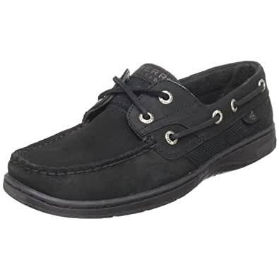 Sperry Top-Sider Women's Bluefish Boat Shoe,Black,5.5 M US