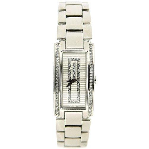 Raymond Weil Ladies Diamond Set Bezel & Dial Interchangeable Strap Watch 42381