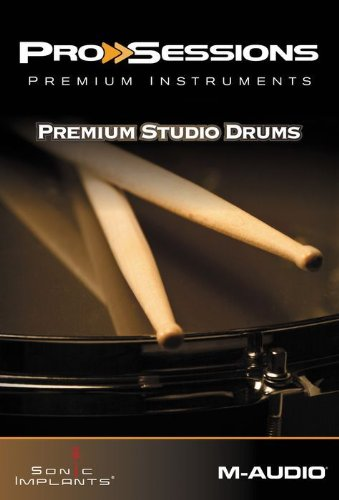 M-AUDIO ProSessions Premium Instruments Vol. 10: Premium Drum KitsM-AUDIO ProSessions Premium Instruments Vol. 10: Premium Drum Kits
