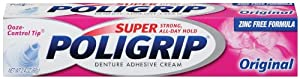 Super Poligrip Original, 2.4-Ounce Packages (Pack of 3)
