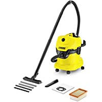 Karcher WD4 Multi-Purpose Wet Dry Vacuum Cleaner with 1800W Motor