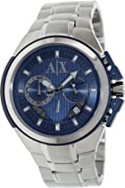 AX Armani Exchange Chronograph Blue Dial Mens Watch AX1180