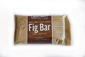 Nature's Bakery Whole Wheat Peach Apricot Fig Bar Case 84 Bars,100% Natural, Dairy Free, Low Fat