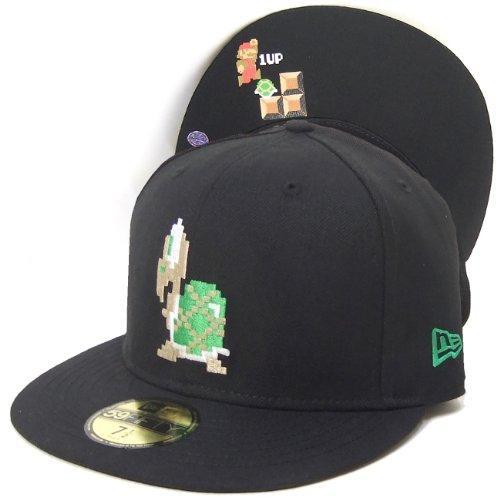 (ニューエラ)NEW ERA BBキャップ ベースボールキャップ メンズ 帽子 ノコノコ SUPER MARIO BROS DOT 59FIFTY N0013652 ブラック