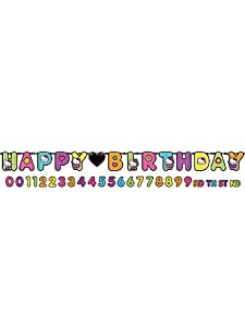 Hello Kitty Tween Banner Happy Birthday Jumbo Add Age Party Customize Decor by Amscan