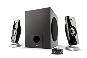 Cyber Acoustic CA 3080 2.1 Powered Speaker System