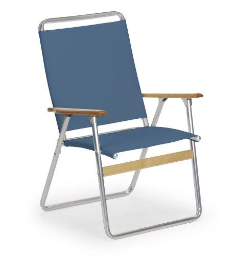 Telescope Casual Original Highback Folding Beach Arm Chair, Navy