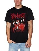 Slipknot Band Frame Black Mens T-Shirt