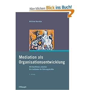 eBook Cover für  Mediation als Organisationsentwicklung Mit Konflikten arbeiten Ein Leitfaden f xFC r F xFC hrungskr xE4 fte