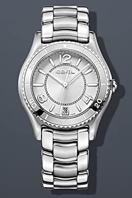 EBEL Women's 1216107 X-1 Analog Display Swiss Quartz Silver Watch