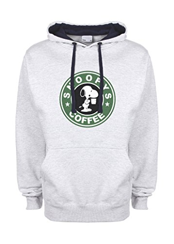 lucky-snoopys-joe-with-coffee-starbucks-gris-azul-muy-oscuro-qualita-superiore-sudadera-con-capucha-