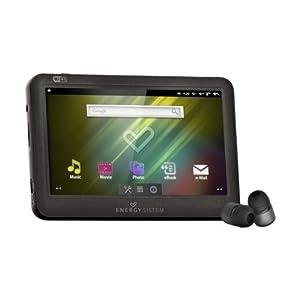 """Energy SistemTM Energy AndroidTM Media Player 8GB 6308 Dark Iron (Pantalla táctil 4.3"""", 16:9, Wi-Fi)"""