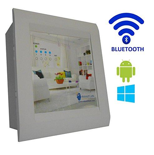 Robosoft Labs Android/Windows/bluetooth Based Home