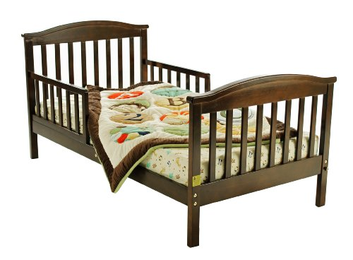 Dream On Me Mission Collection Style Toddler Bed, Espresso