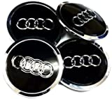 AUDI WHEEL CENTER CAPS/HUBS 60mm 4x A3, A4, A6, S4,TT