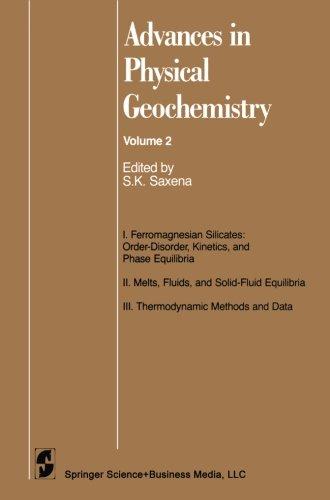 Avances en física geoquímica