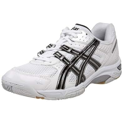 ASICS Men's GEL-Rocket 5 Volleyball Shoe,White/Black/White,10 M US