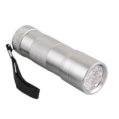 TOMOUNT UV Ultra Violet Blacklight LED Flashlight Torch Light