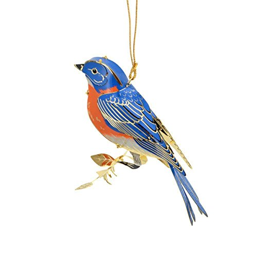 The Classic Baldwin 3d Bluebird Ornament