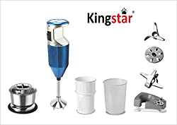 kingstar Hand Blender BMW PLUS BLUE