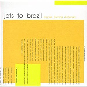 Jets to Brazil | Orange Rhyming Dictionary