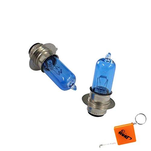 HURI 2pcs Xenon Headlight Bulb for Yamaha YFM225 YFM225U YFM250 YFM350ER Moto-4 YFM400 Kodiak 400 450 ATV (700 Raptor Headlights compare prices)