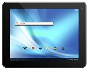 Odys Noon 24,6 cm (9,7 Zoll) Tablet-PC (IPS Display, Dual Core Prozessor, 1,6GHz, 1GB RAM, 16GB HDD, HDMI, WLAN, Android 4.1, Bluetooth 2.1.) schwarz/Alu