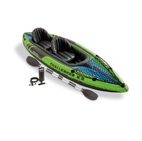 Intex Challenger K2 2-Person Inflatable Sporty Kayak + Oars And Pump | 68306EP (E Gift Card Ebay compare prices)