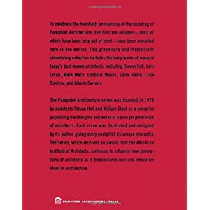 Pamphlet Architecture 1-1 Livre en Ligne - Telecharger Ebook