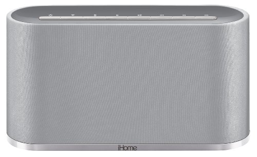 Ihome Iws2 Airplay Wireless Stereo Speaker System - Silver
