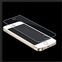 ShopAIS Tempered Glass Screen Protector for Apple iPhone 5/5S/5C