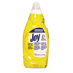 Joy Dishwashing Liquid, 38 oz Bottle - eight bottles of dishwashing liquid.