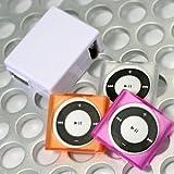iPod shuffle4専用TPUケースAC充電器セット クリア