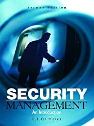Security Management An Introduction P J Ortmeier