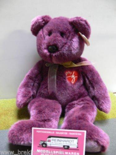 1 X TY Beanie Buddy - 2000 SIGNATURE BEAR - 1