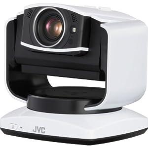 JVC GV-LS2WEU Live Streaming Kamera (12,4 Megapixel CMOS sensor, 10-fach opt. Zoom, Full HD, WiFi, SD-Kartenslot) weiß