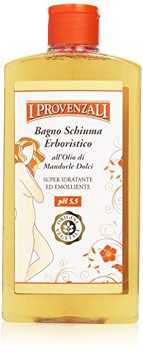 I Provenzali - Bagno Schiuma Erboristico, all'Olio di Mandorle Dolci - 400 ml