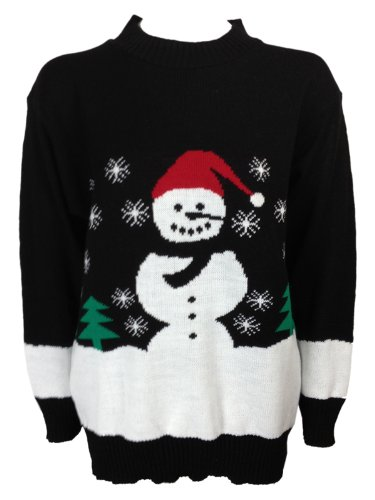 Snowman Christmas Knitted Jumper