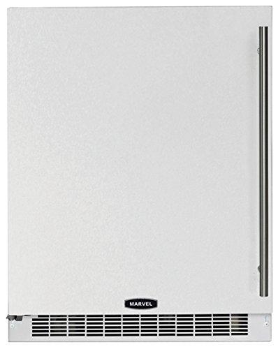 Marvel MA24RAP3LP ADA Refrigerator with Glide Out Crisper and Left Hinge Door, 24-Inch (Refrigerator Door Ajar Alarm compare prices)