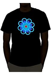 Emazing Lights Daisy Sound Activated Light Up Rave Shirt