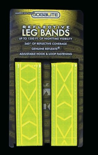 Jogalite Reflective Band - Made With Genuine Reflexite in America - By Jogalite (Pair of Two)
