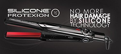 Red Pro Silicone Protexion Flat Iron 1/2